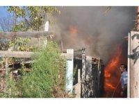 Simav'da yangın