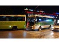 2 halk otobüsü çarpıştı: 1 yaralı