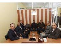 Vali Soytürk Birlik Başkanlarıyla bir araya geldi