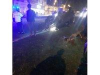 Siverek'te otomobil refüje çarparak takla attı: 6 yaralı