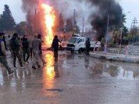 Rasulayn'da 2 bomba yüklü araç patladı: 1 ölü, 6 yaralı