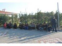 Çanakkale'de 49 düzensiz göçmen yakalandı
