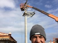 MHP Isparta İl Başkanı elektrik akımına kapılarak ağır yaralandı