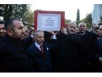 Şehit bomba imha uzmanı Esra Çevik son yolculuğuna uğurlandı