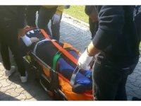Avcılar'da okulun 4. katından düşen üniversite öğrencisi yaralandı