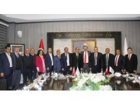 TOBB Başkanı Hisarcıklıoğlu'ndan GTB'ye ziyaret