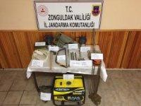 Zonguldak'ta kaçak kazı yapan 5 kişi yakalandı