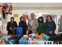Kadınların ürettikleri yerli ürünler tezgahlarda