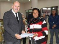 Kuyucak'ta patron olmak isteyen engelli ve eski hükümlülere projeleri teslim edildi