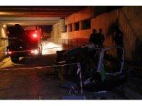 Bolu'da takla atan otomobil istinat duvarına çarptı: 2 ölü