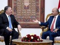 """Irak Cumhurbaşkanı ve ABD Dışişleri Bakanı """"DEAŞ ile mücadeleyi"""" görüştü"""