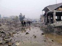 Rejim ve Rus uçakları Halep'e saldırdı: 2 ölü, 5 yaralı