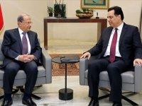 Lübnan'da Hizbullah'a yakın Hassan Diyab başbakanlığında yeni hükümet kuruldu