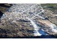 Balıkesir'de tarihi mezar taşını satmaya çalışan 2 şüpheli yakalandı