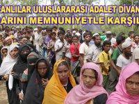 Arakanlı Müslümanlar, Uluslararası Adalet Divanı'nın kararını memnuniyetle karşıladı