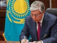 Kardeş Kazakistan'dan destek ve taziye mektubu
