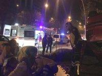 Başkentte trafik kazasında bir kişi yaralandı