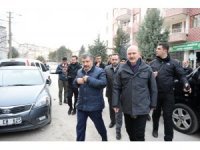 Bakanlar Soylu ve Koca Elazığ'da taziye ziyaretinde bulundu
