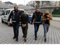Samsun'daki uyuşturucu operasyonlarında yakalanan 6 şüpheliden 3 şüpheli tutuklandı