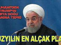 """Ruhani'den Trump'ın Orta Doğu planına tepki: """"Yüzyılın en alçak planı"""""""