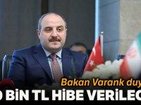 """Bakan Varank: """"200 bin liralık hibeyle gençler, fikirlerini somut işlere dönüştürebiliyor"""""""