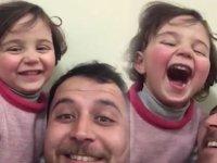 Suriyeli minik Selva'nın 'Hayat Güzeldir' filmini anımsatan savaş oyunu