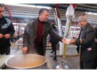 Alaşehir Belediyesinden pazarcı esnafına sıcak destek