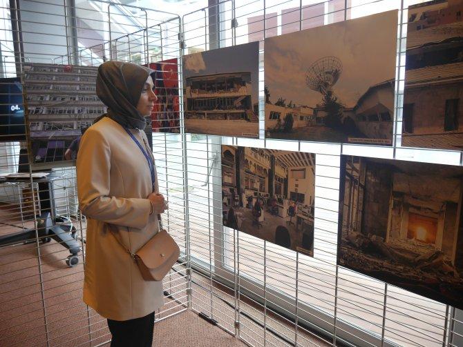 AA'nın 15 Temmuz fotoğraf sergisi Avrupa Konseyi'nde