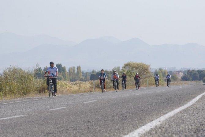 Beyşehir'de Karaburun Bisiklet Turu