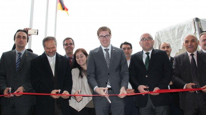 Almanya'da cami açılışı