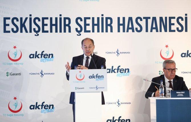 Eskişehir Şehir Hastanesi finansmanı imza töreni