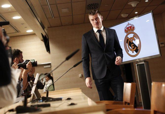 Kroos, kariyerini Real Madrid'de bitirmek istiyor