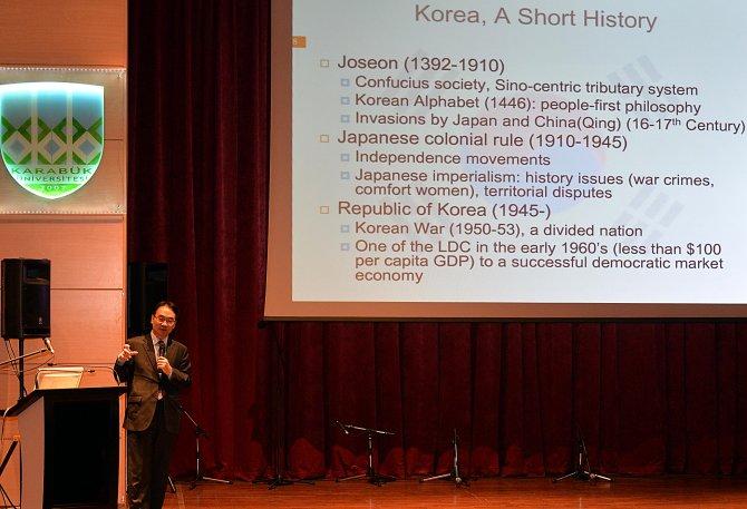 """Karabük'te, """"Kore Kültür Günü"""" etkinlikleri"""