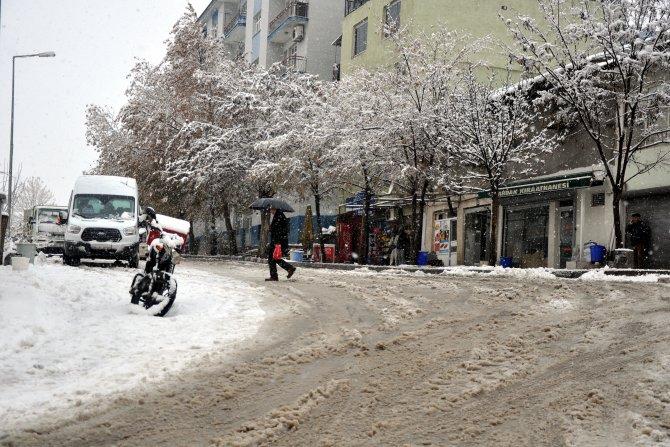 Doğu Anadolu'da kar yağışı ve tipi