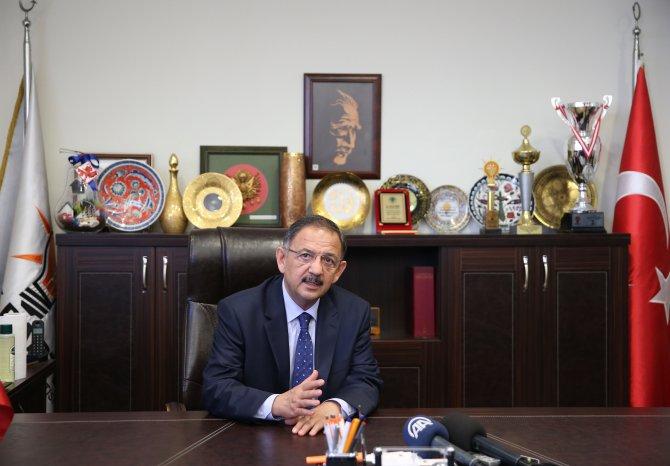 Bakan Özhaseki'den Kartal'da SKM ziyareti