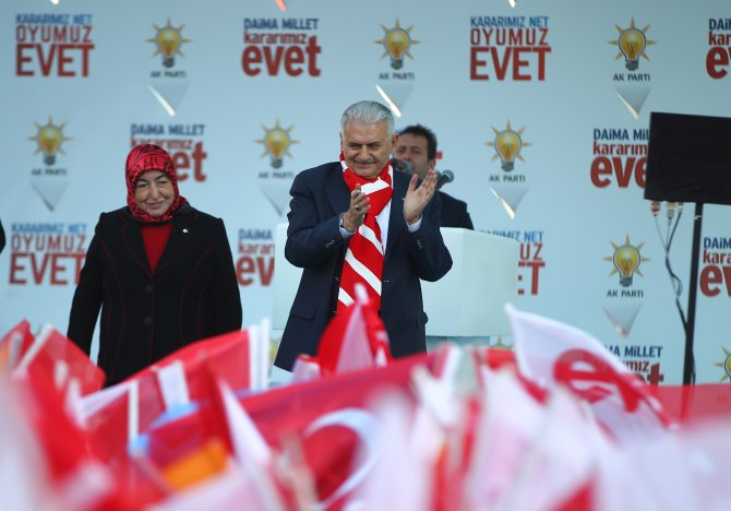 AK Parti Kırklareli mitingi