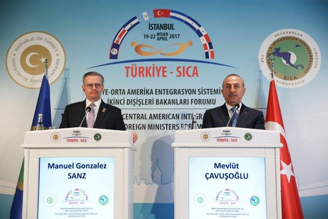 SICA 2. Dışişleri Bakanları Forumu ortak basın toplantısı