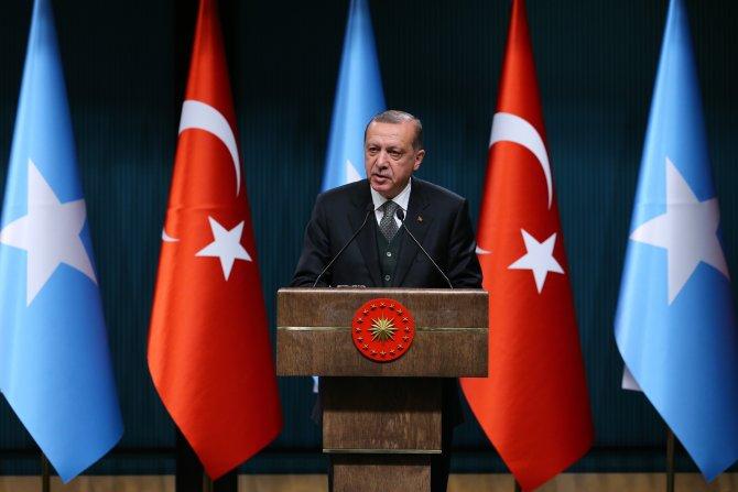 Erdoğan-Fermacu ortak basın toplantısı