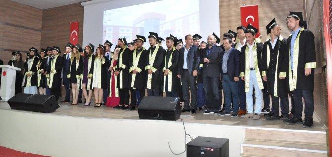 Sorgun MYO'da mezuniyet sevinci