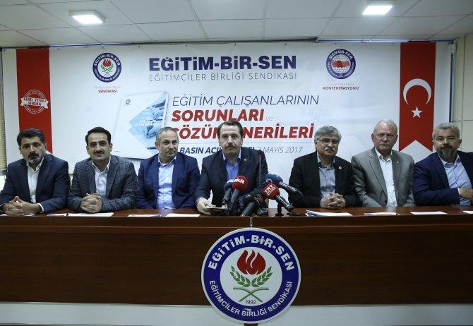 """""""Eğitim Çalışanlarının Sorunları ve Çözüm Önerileri"""" raporu"""