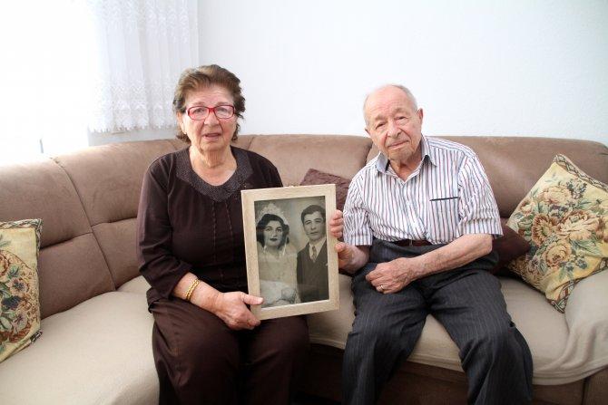 Kocatepe çiftinin 70 yıllık evliliklerinin sırrı sevgi ve anlayış