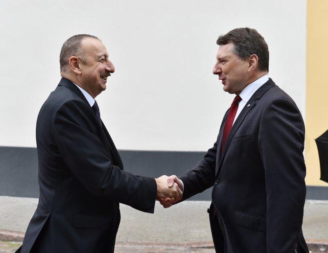 Azerbaycan ve Letonya arasında stratejik ortaklık kurulacak