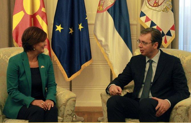 Sırbistan'ın Makedonya'daki diplomatlarını geri çağırması