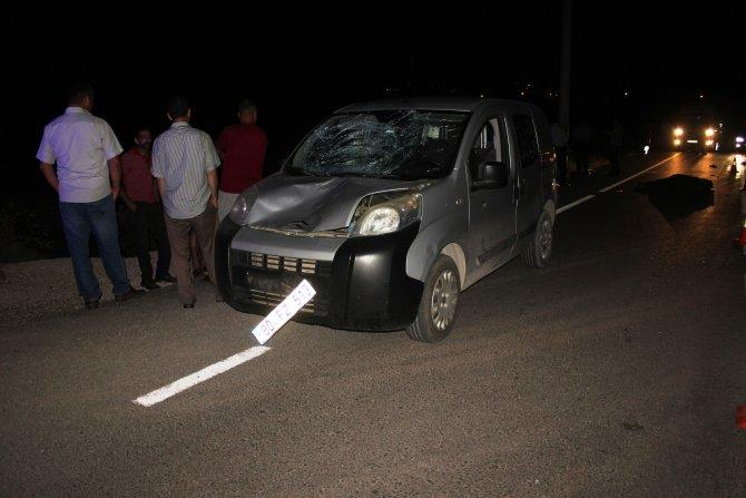 Osmaniye'de hafif ticari aracın çarptığı yaya öldü