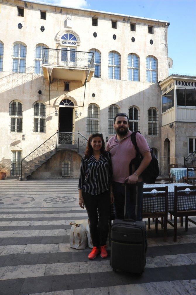 Tarihi Antep evleri turistleri ağırlıyor