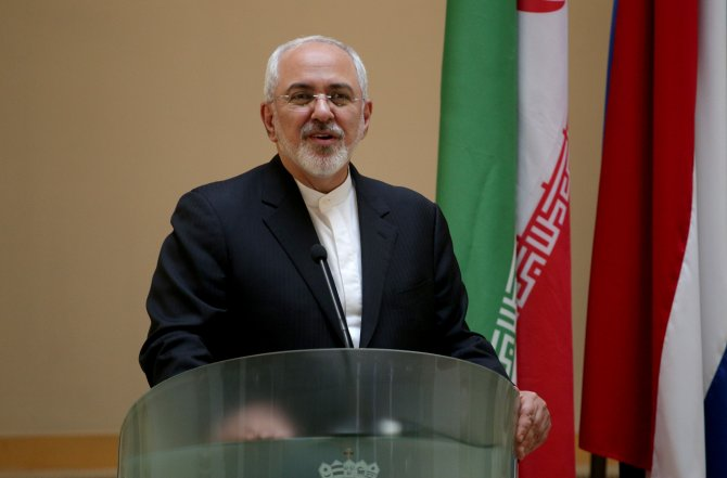 İran Dışişleri Bakanı Zarif Hırvatistan'da