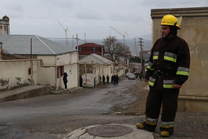 GÜNCELLEME - Azerbaycan'da yangın
