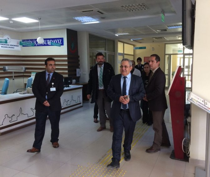 Ağız Diş Sağlığı Merkezi'ne yeni röntgen odası açıldı