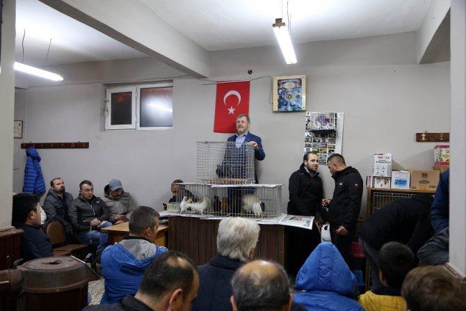 """""""Güvercin mezatı""""nın geliri Mehmetçik'e"""