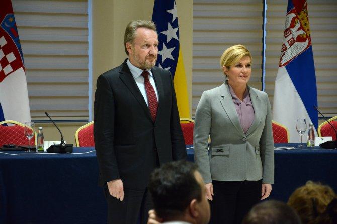 Bosna Hersek-Hırvatistan-Sırbistan Zirvesi